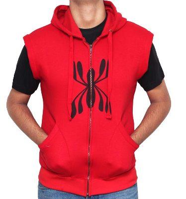 Spiderman Hoodie Vest