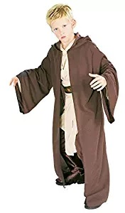 brown jedi robe cape
