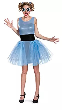 bubbles costume powerpuff womens