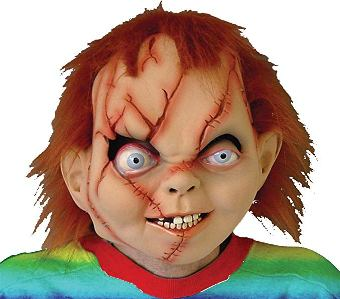 chucky mask halloween