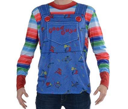chucky mens striped shirt