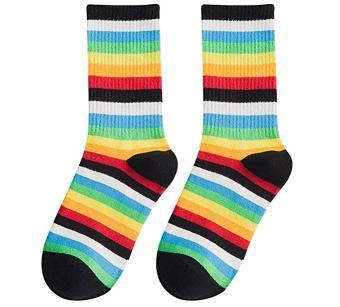 chucky striped socks