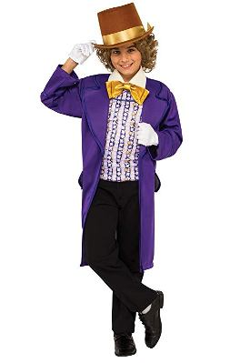 kid costume willy wonka