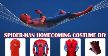 Spider Man Homecoming Costume DIY 375x195
