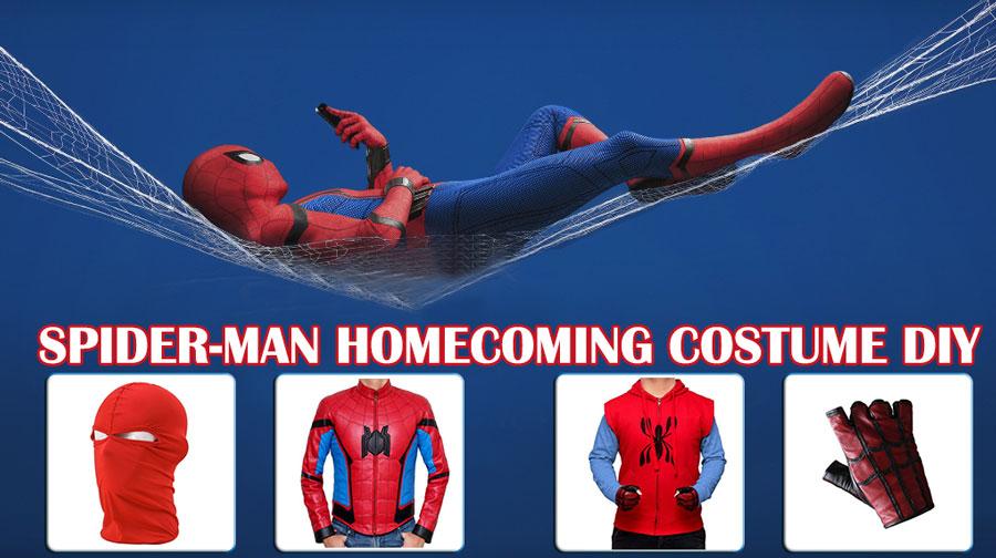 6a52f8af8f1 Spider-Man Homecoming Costume | Adult Cosplay Suit DIY