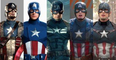 Captain America Costume Suit 375x195