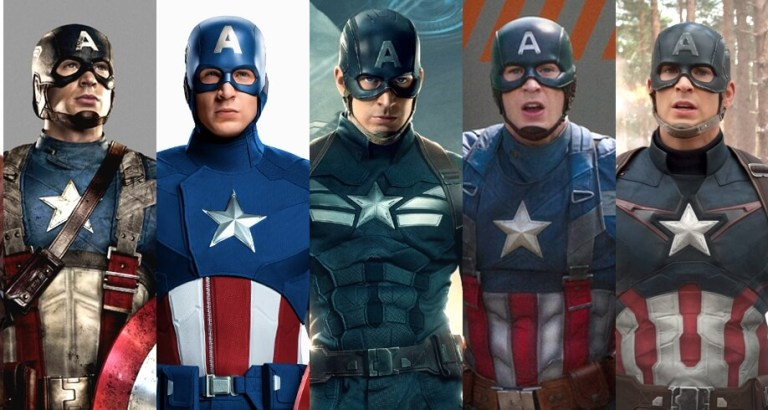 A,Z Costume Guide To Be Captain America
