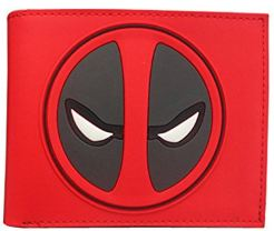 Deadpool Leather Red Wallet