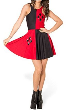 Harley Quinn Dress Costume