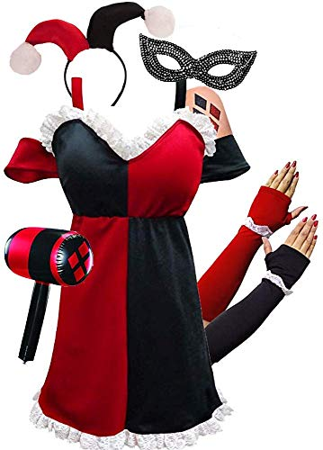 Harley Quinn Plus size costume set