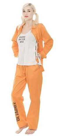 Harley Quinn Prison Set Costume
