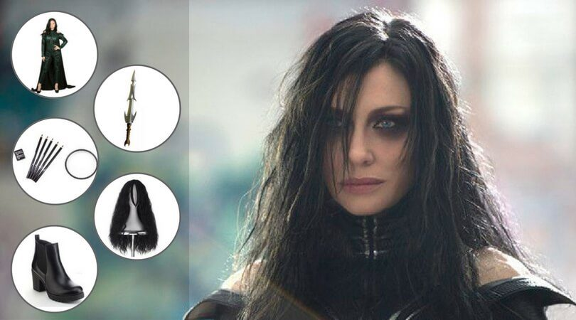 DIY Hela Costume To Become The Evil Queen  sc 1 st  Film Jackets & Hela Costume - Cosplay The Ruler of Marvel Universe