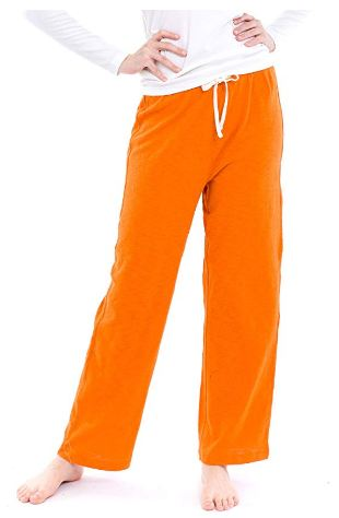 Orange Prison Pajamas