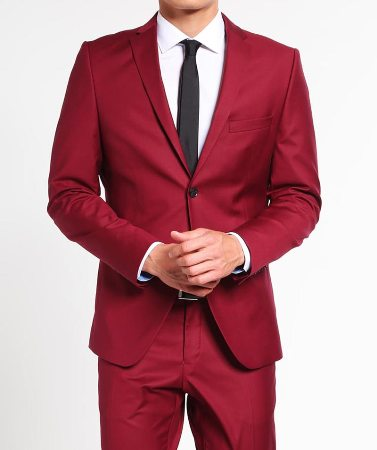 Red Mens Suit