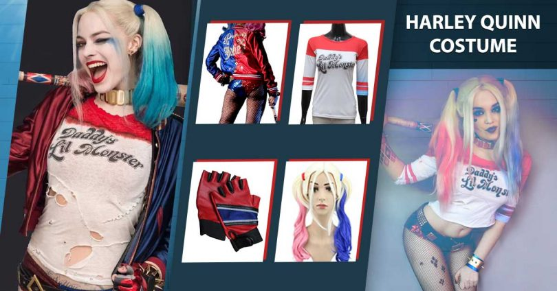 Harley quinn costume diy halloween guide 2017 she has attired different costumes in her life and right now youll discover most infamous varieties solutioingenieria Gallery