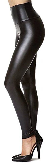Womens Leather Fit tights