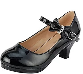 girls black shoes sandal