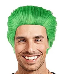 joker green wig