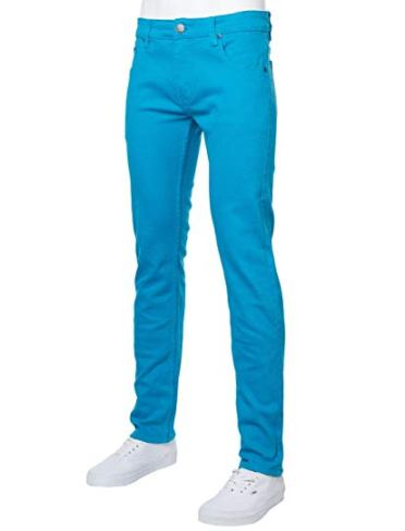 spiderman slim blue pant
