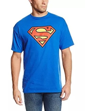 superman blue tshirt
