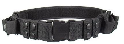 Black Dual Mag Belt Pouch