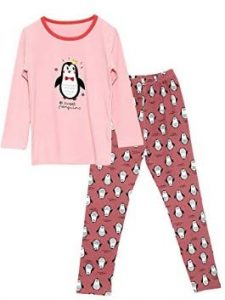 Marching Penguins Pajama Set