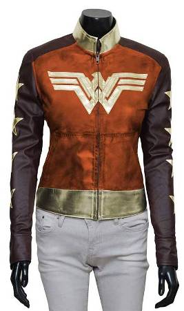 Wonder Woman 2017 Leather Jacket