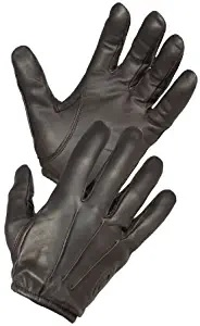 green arrow gloves leather