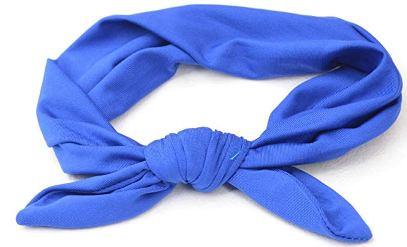 kitana headband blue