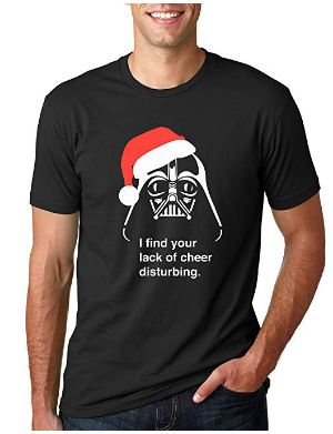 Darth Vader Lack of cheeky grin shirt