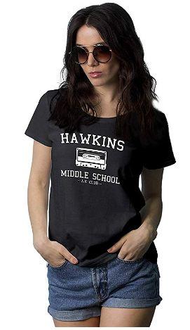 Hawkins Middle School Womens Shirt