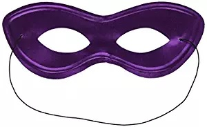 purple eye mask superhero