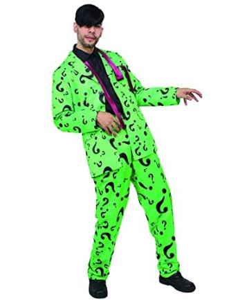 riddler man costume