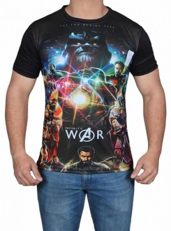 Infinity War Heroes T Shirt