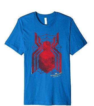 Spider man homecoming shirt