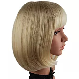 blonde wig for girls womens
