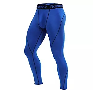 blue tights compression pant
