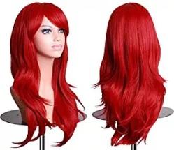 red wig women black widow