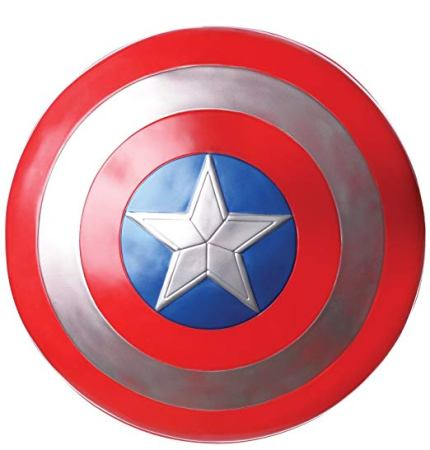 Captain America Shield Red and Blue