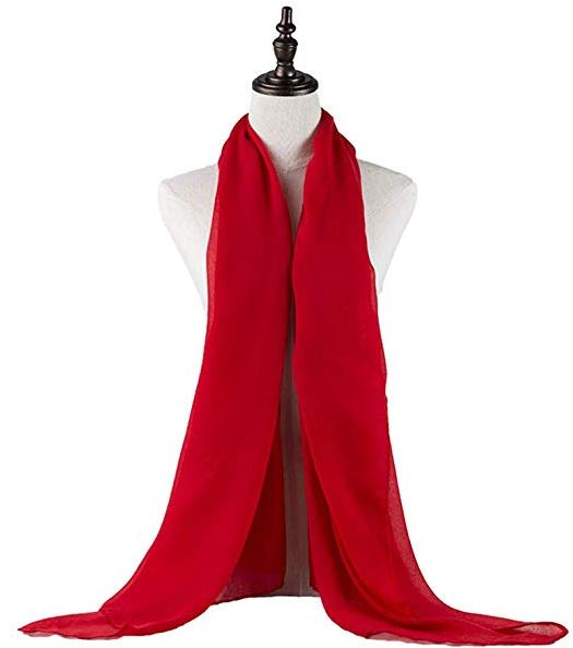red captain marvel scarf