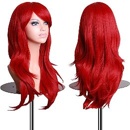 red wig women