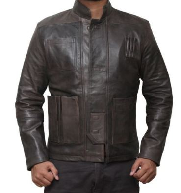 Han Solo Real Leather Jacket