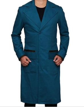 Newt Scammader Blue Coat