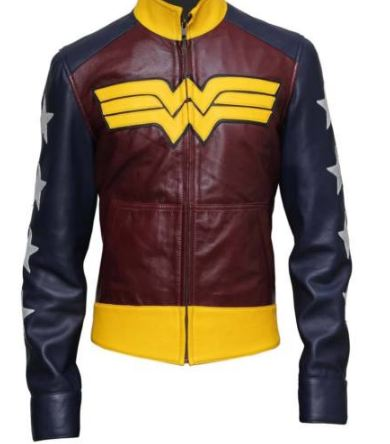 Wonder Woman Jacket for Ladies