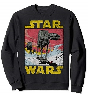 star wars walkers man shirt sweater