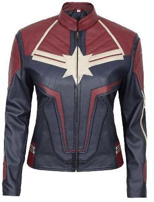 Captain Marvel 2019 Jacket