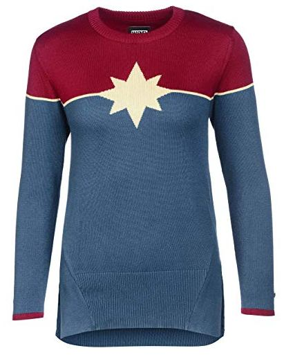 Captain Marvel Cosplay T-Shirt
