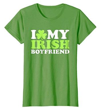 I love my irish boyfriend shirt