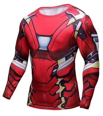 Iron Man Cosplay Shirt