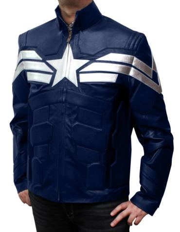 captain america winter soldier jacket